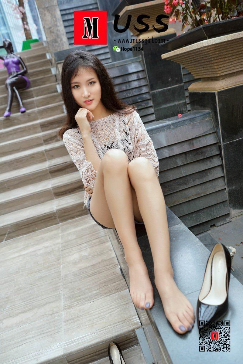 [MussGirl慕丝女郎]NO.022 热裤下裸露的大长腿[65P/137M]